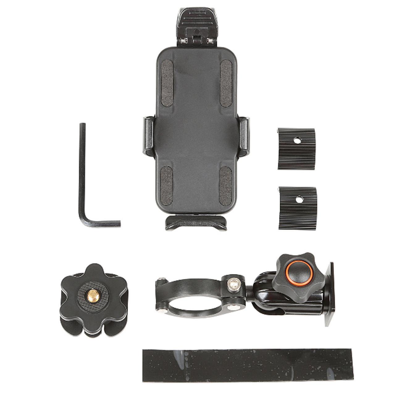 Rugged Ridge 13551.37 Cell Phone/GPS Mount for Gear-Vise Dash Bar for Jeep Wrangler JL & Gladiator JT 2018+