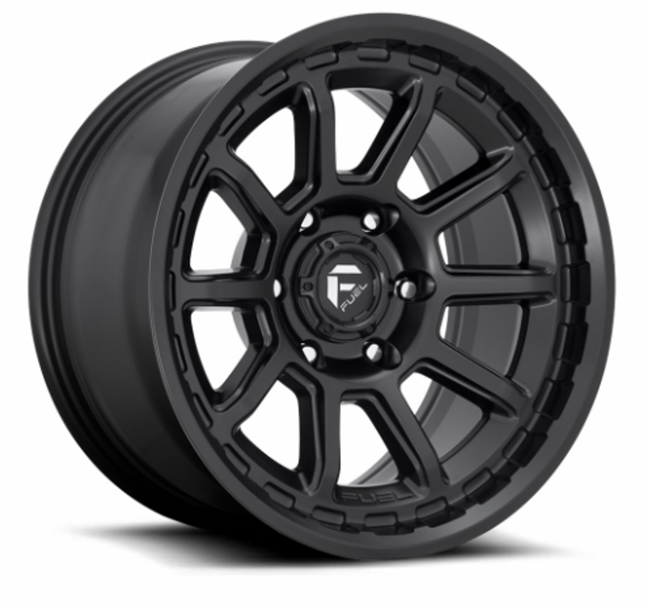 Fuel D68917907545 Torque Wheel 17x9 5x5 Matte Black