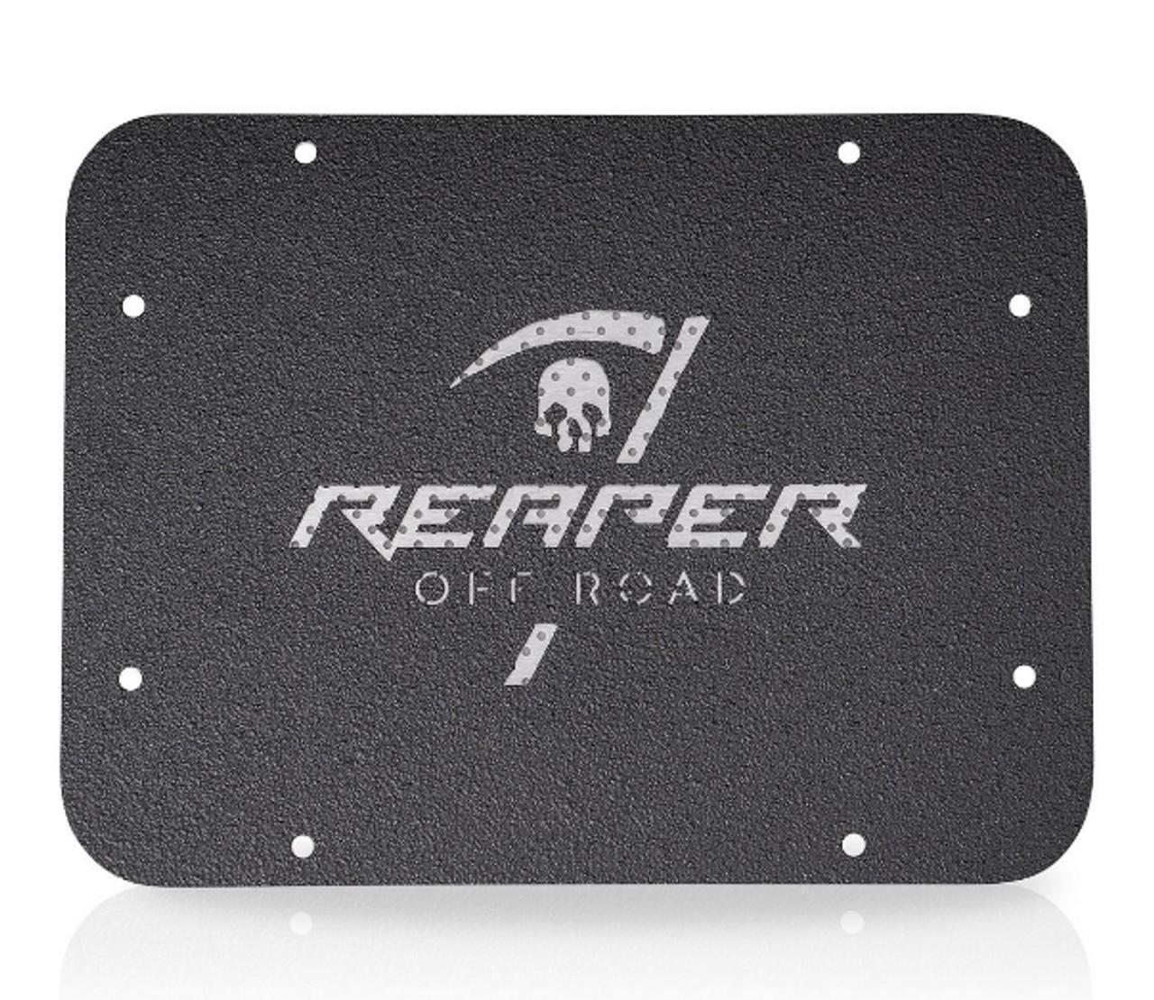 Reaper Off-Road JKTS-B Tailgate Cover in Black for Jeep Wrangler JK 2007-2018