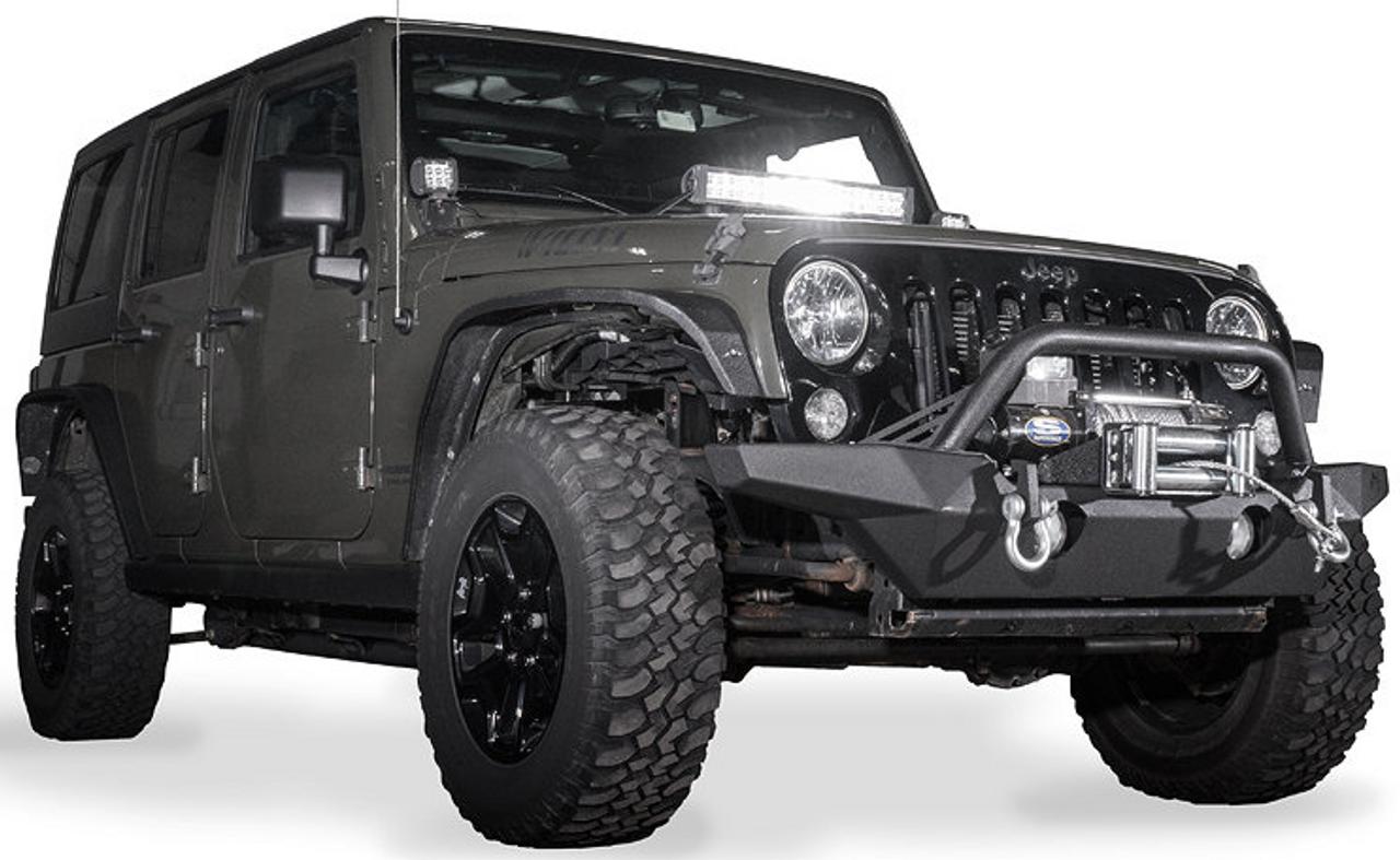 Reaper Off-Road JFBMW-JK Immortal F2 Front Bumper for Jeep Wrangler JK 2007-2018