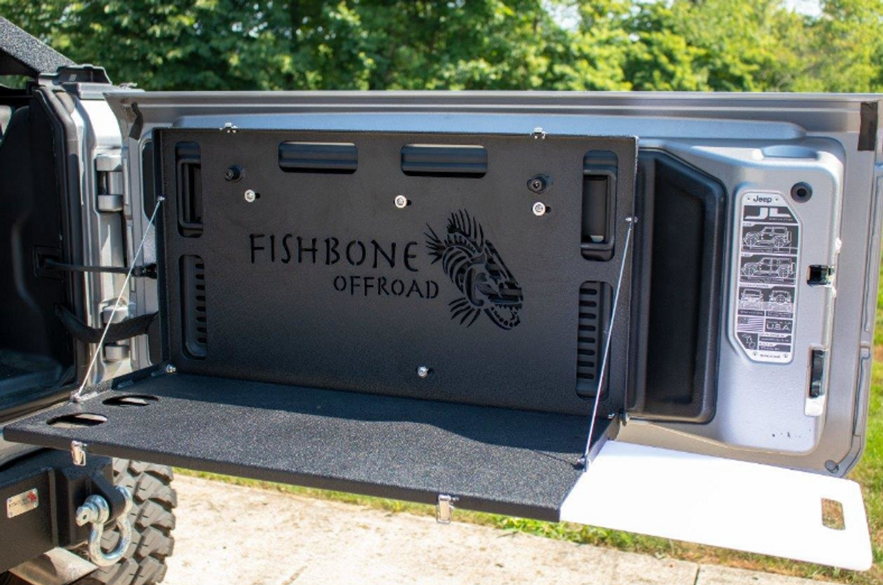 Fishbone Offroad FB25220 Tailgate Table for Jeep Wrangler JL 2018+