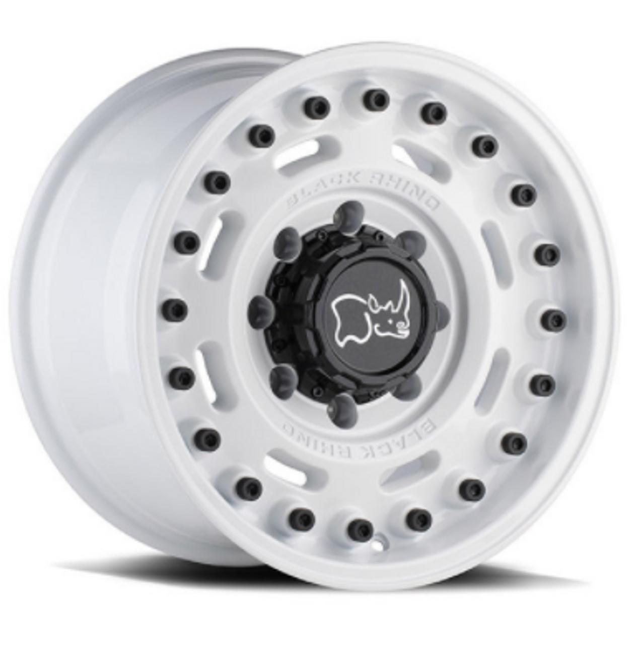 Black Rhino 1795AXL-85127W7 Axle Wheel | 17x9.5 | 5x5 | Gloss White