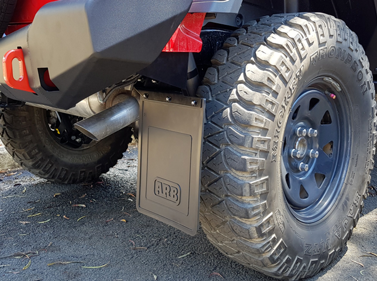 ARB 5750380 Mud Flaps for ARB Rear Bumper for Jeep Wrangler JL 2018+