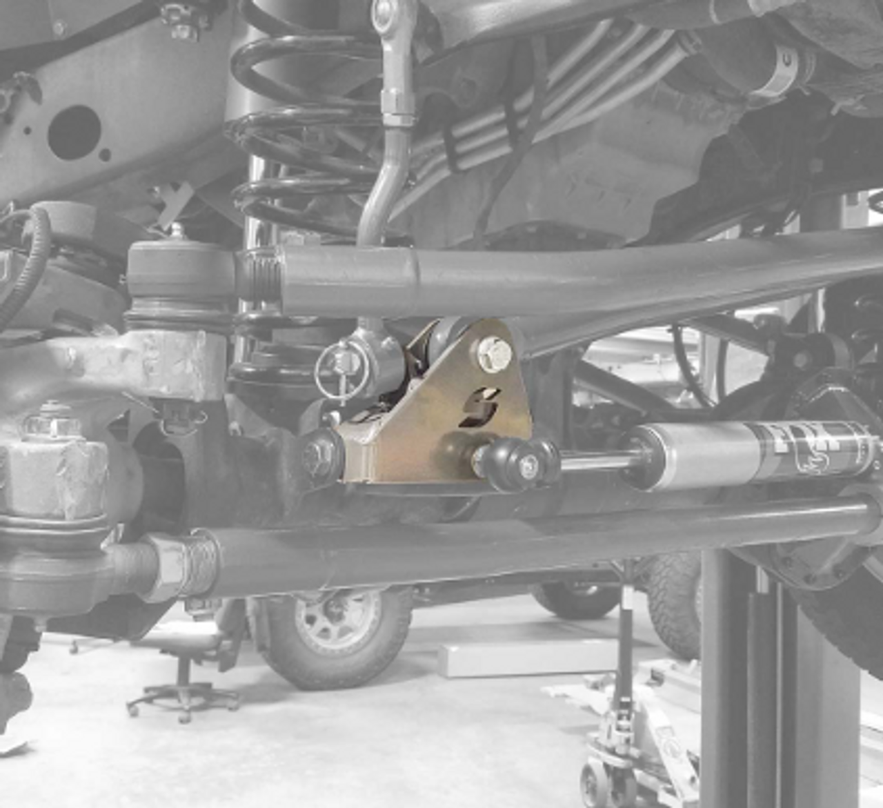 Synergy 8855-01 Front Track Bar Relocation Bracket for Jeep Wrangler JL & Gladiator JT 2018+