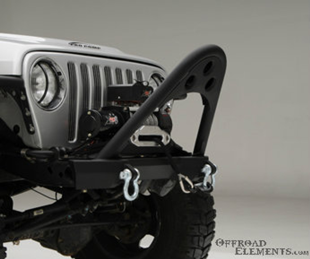 Smittybilt XRC Front Bumper with Winch Plate for Jeep Wrangler TJ & LJ 1997-2006   76521