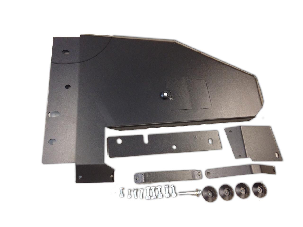Rock Hard Oil Pan, Transmission & Dual Catalytic Converter Skid Plate for Wrangler JK 2007-2014   RH-6003