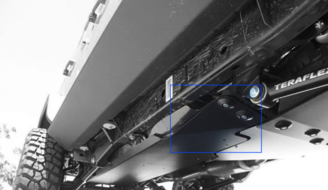 Rock Hard 4x4 Gas Tank Skid Provides Coverage