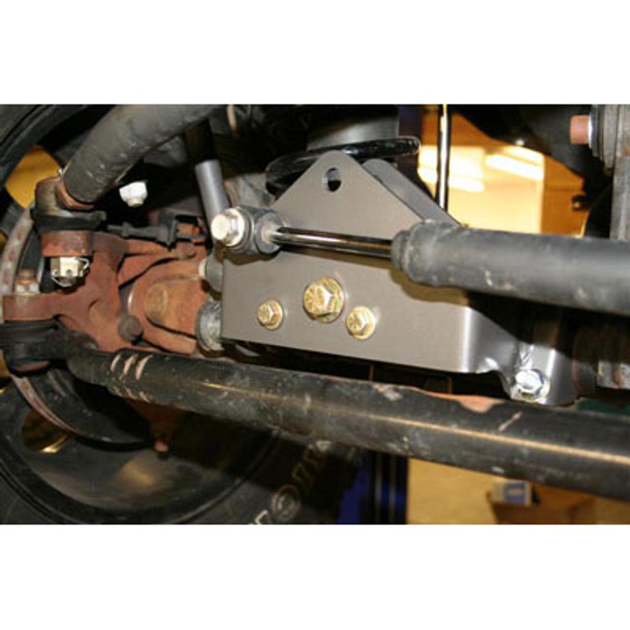 Synergy 8055 Front Track Bar Relocation Bracket for Jeep Wrangler JK 2007+