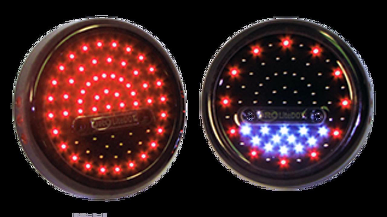 ORO LD-RRW2 LiteDOT LED Taillights for Wrangler TJ/LJ 1997-2006