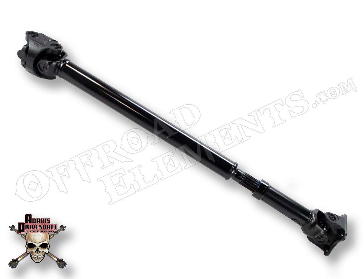 Adams Driveshaft AD-JK-F-1310 1310 Front CV Driveshaft Flange Style for Wrangler JK 2007+