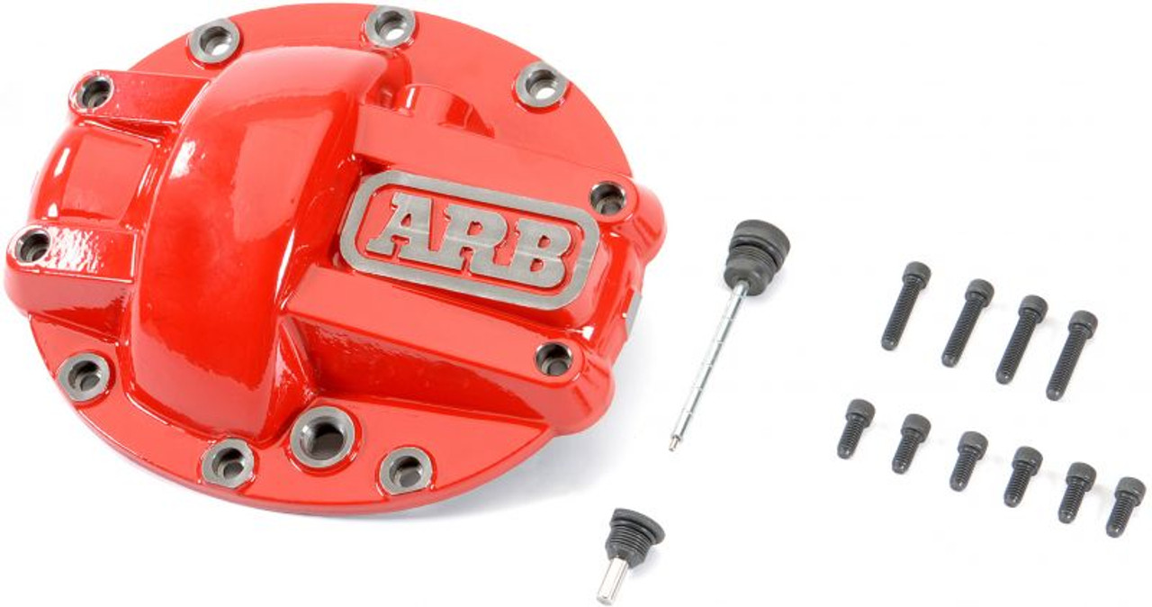 ARB Diff Cover & Lube Locker Special - Red