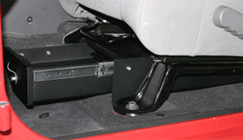 Tuffy 247-01 Conceal Carry Under Seat Lock Box for Wrangler JK 2007+