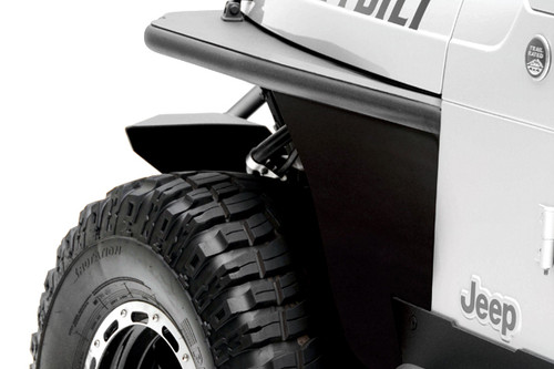 Smittybilt 76872 Front Tube Fenders for Wrangler TJ 97-06