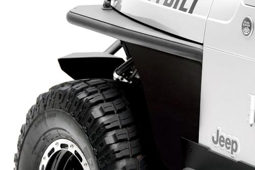 Smittybilt 76872 Front Tube Fenders for Wrangler TJ 97-06