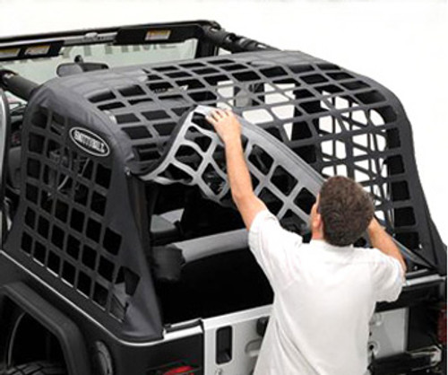 Smittybilt 571035 C.RES Systems Cargo Net for 2 Door Wrangler JK 2007+