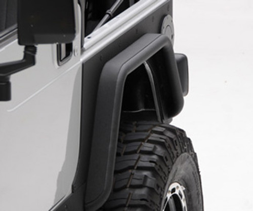 Smittybilt 76874 XRC Rear Corner Guards for Wrangler TJ 97-06