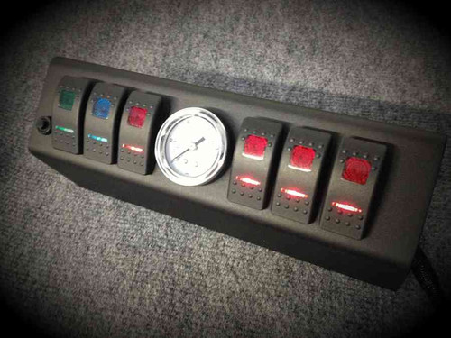 SPOD Double LED Switch System w/ Air Gauge