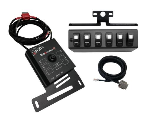 sPOD SL-0708-JK SourceLT Switch Panel for Jeep Wrangler JK 2007-2008