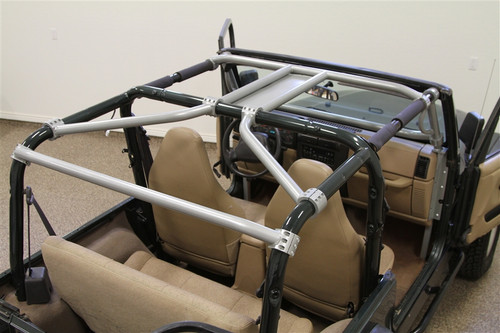 Rear view of Ultimate Sport Cage for TJ/LJ