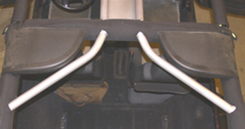 TJ/LJ with Sound Pods Rock Hard 4x4 Rear Overhead Angle Bars