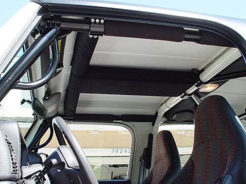 Rock Hard 4x4 Padding Kit for Overhead T-Section TJ/LJ