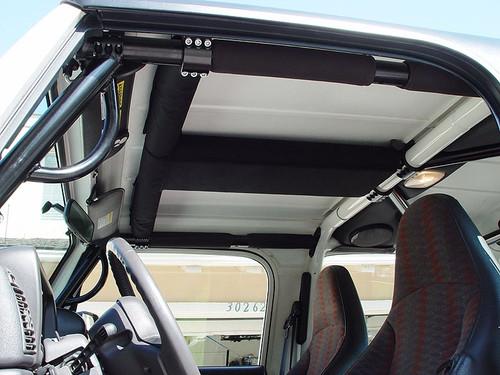 Rock Hard 4x4 Padding Kit for Overhead T-Section TJ/LJ