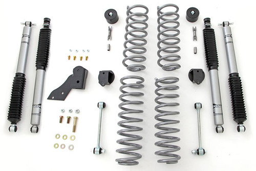 "Rubicon Express 7142M 3.5"" Standard Coil Lift Kit with Monotube Shocks JK 4 Door"