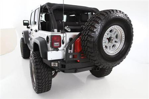 Smittybilt 76896 XRC Atlas Rear Bumper with Tire Carrier