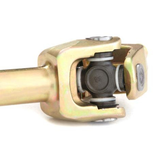 G2 Close Up of Spicer U-Joint on Dana 30 27 Spline Placer Gold Chromoly Axle Kit