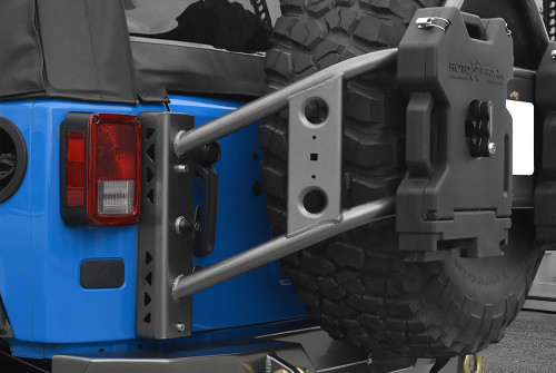 Poison Spyder Body Mounted Tire Carrier (Wrangler JK 2007-2018)