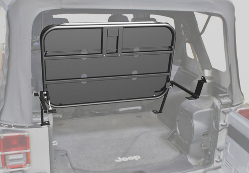 Rampage Products Rear Interior Sports Rack for Jeep JK 2 Door in Open/Up Position