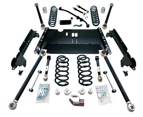 """TeraFlex 1249482 4"""" Enduro LCG Long FlexArm Kit for Jeep Wrangler LJ 2003-2006"""