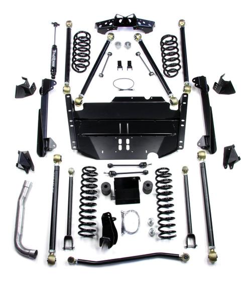 "TeraFlex 1449585 5"" Pro LCG Long FlexArm Lift Kit for Jeep Wrangler LJ 2003-2006"