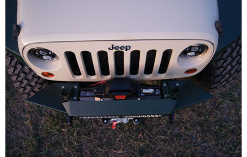 Arial View of Nemesis Industries Voyage Front Bumper for JK