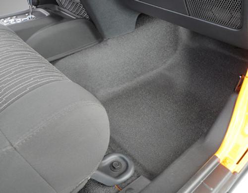 Passenger Side Front BedRug BedTred Floor Liner for Jeep JK 4 Door