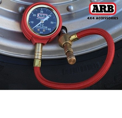 ARB E-Z Deflator Kit in Use