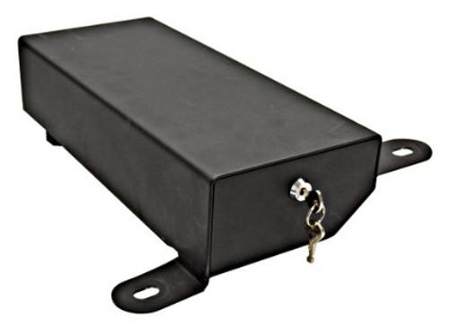 Bestop 42642-01 Locking Under Seat Storage Box in Textured Black for Jeep Wrangler JK 2 07-10 and Wrangler 4 Door 2007-2016