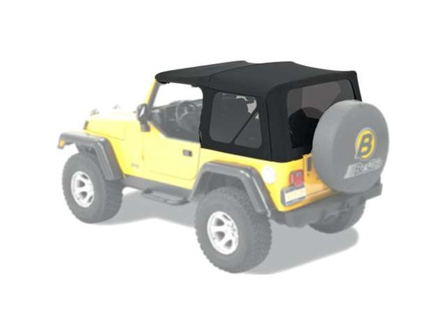 Bestop Black Twill Replace-A-Top with Tinted Windows for JK 2 Door 07-09
