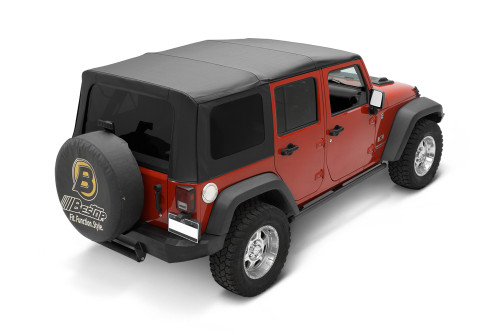 Bestop Black Twill Replace-A-Top for JK 4 Door 10-16
