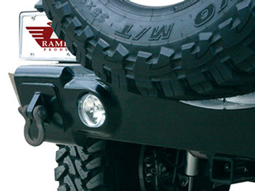 Rampage Rear Recovery Bumper for Jeep JK