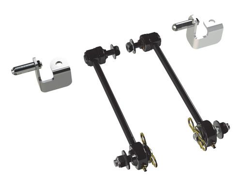 "TeraFlex 1753010 0-3"" Front Swaybar Quick Disconnect Kit for Jeep Wrangler JK 2007-2016"
