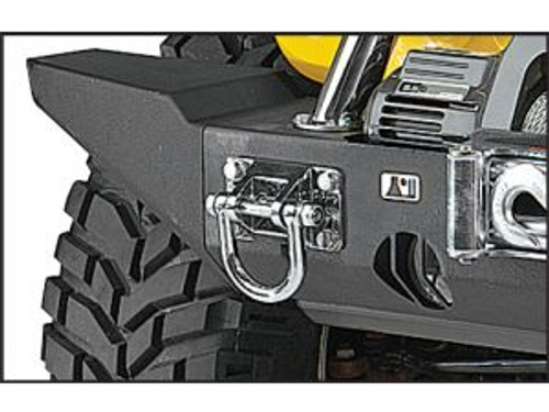 Rugged Ridge  11540.17 Modular XHD Front Bumper D-Rings in Stainless Steel for Jeep Wrangler 1987-2016