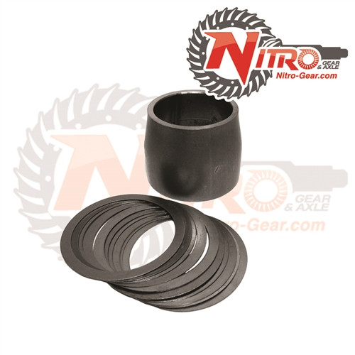 Nitro Gear and Axle Dana 30 and 44 Front Jeep Wrangler JK Solid Pinion Pre-Load Spacer Kit
