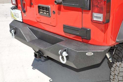 DV8 Offroad RS-4 Mid Width Rear Bumper for Jeep JK