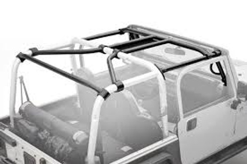 Smittybilt SRC Roll Cage Kit- 7 Piece for Jeep JK 2 Door 07-10