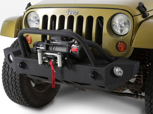Smittybilt SRC Carbine Front Bumper for Jeep JK