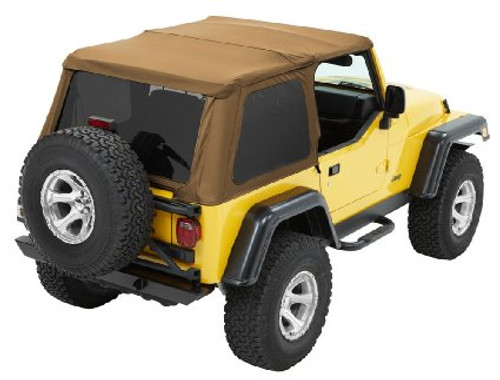 Bestop Trektop NX in Spice for Jeep TJ