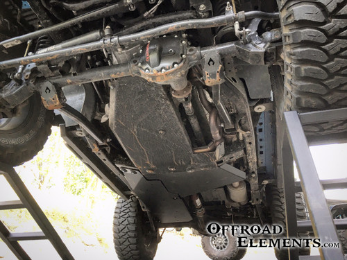 Rock Hard 4x4 2 Door Belly Skid Package