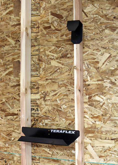 TeraFlex Freedom Panel and Full Door Hanger Combo Kit Mounted