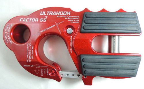 Factor 55 Ultra Hook Red